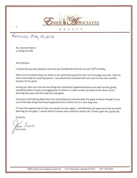 Thank You Letter Corporate thank you letter to client for their business 28 images