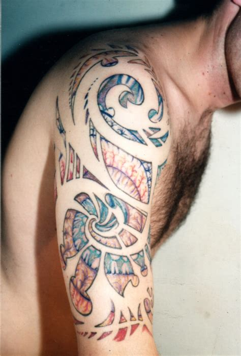 geometric tribal tattoo 59 stunning geometric shoulder tattoos