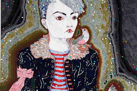 Del Kathryn Barton Artwork by Del Kathryn Barton Whimsical Weird And Wonderful
