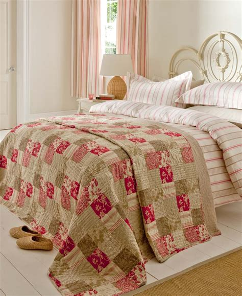 Patchwork Quilt Duvet Cover - stripe quot province quot duvet cover set or curtains