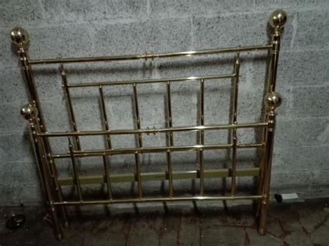 struttura letto 1 piazza e mezzo letto 1 p e 12 ottone bagnato oro posot class