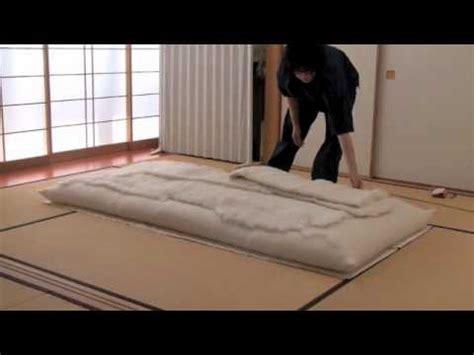 How To Make A Japanese Futon 手作り木綿布団の作成画像 handmade japanese made futon