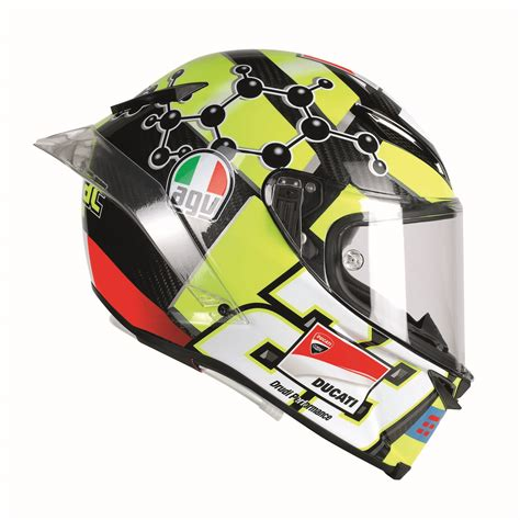 design helmet iannone agv pista gp r helmet debuts with hydration channel