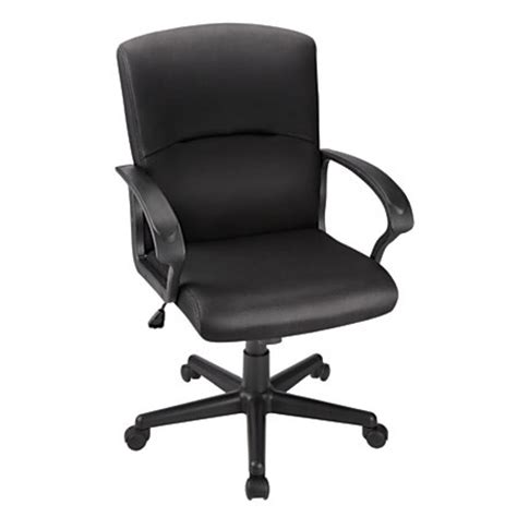 brenton studio task chair brenton studio mid back fabric task chair black by office