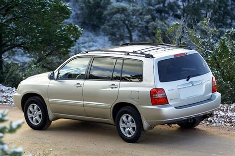 2002 toyota highlander specs 2002 toyota highlander reviews specs and prices cars