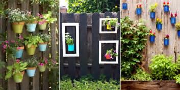 Garden Fence Decorating Ideas 12 Creative Ways To Decorate Your Garden Fence