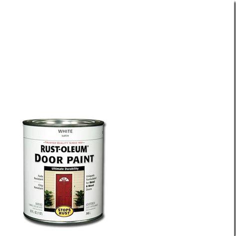 home depot exterior paint quart rust oleum stops rust 1 qt white door paint 2 pack