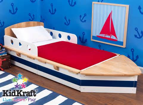 themed toddler beds kidkraft boat toddler cot with free shipping