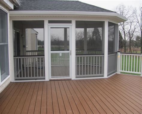 patio deck designs with screen room posted by all custom aluminum at 12 09 pm no comments ideas for amazing screened porch and deck designs