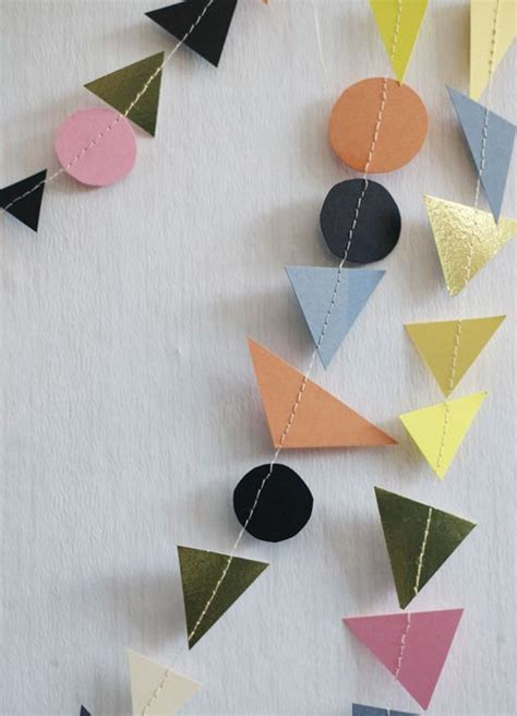 How To Make Geometric Shapes With Paper - 1000 images about geometric shapes on paper