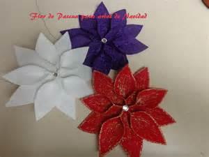 diy manualidades para navidad flor de pascua para decorar