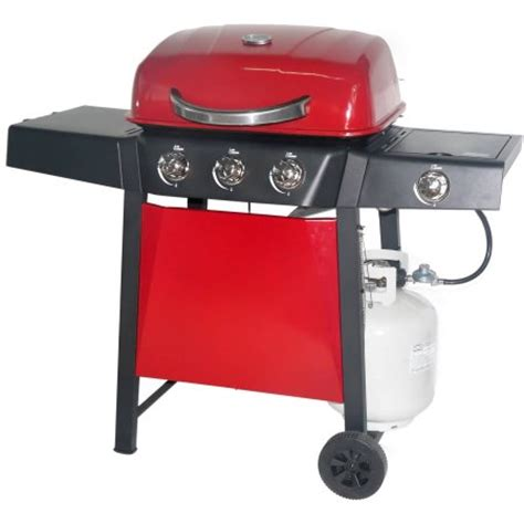 backyard grill 3 burner gas grill with side burner revoace 3 burner lp gas grill with side burner red sedona