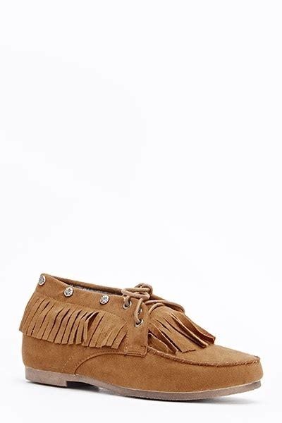Fringed Flats fringed moccasin flat shoes just 163 5