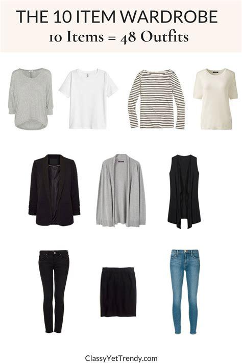 french women 10 item wardrobe the 10 item wardrobe makes 48 outfits tw 132 classy