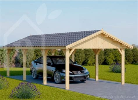Wood Car Port by Carports Made Of Wood Picture Pixelmari