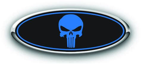 Ford Sticker by Ford Punisher Decals Darkside Racing Ford Overlay