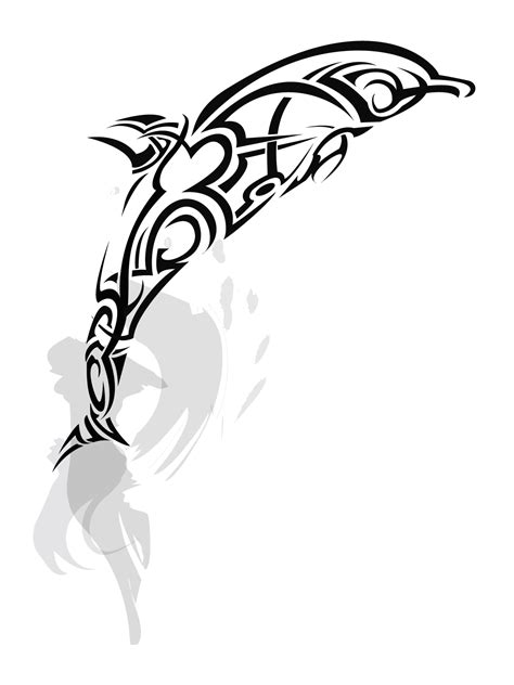 dolphin tribal tattoo dolphin tattoos designs ideas and meaning tattoos for you