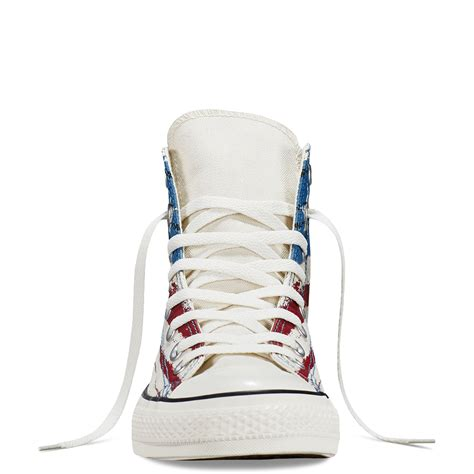 Converse Color Chili chuck all us flag print chili paste atlantic egret