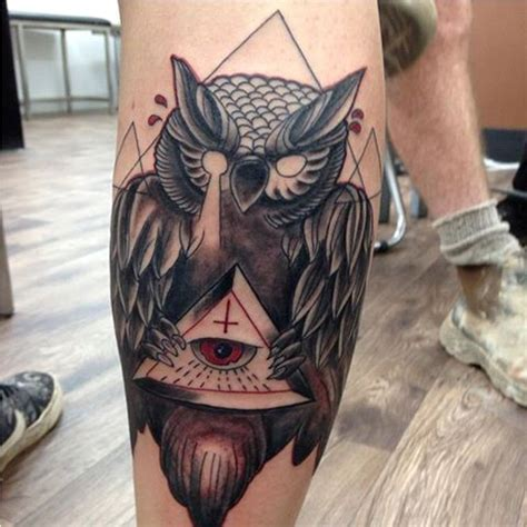 owl tattoo meaning illuminati illuminati tattoos tattoofanblog