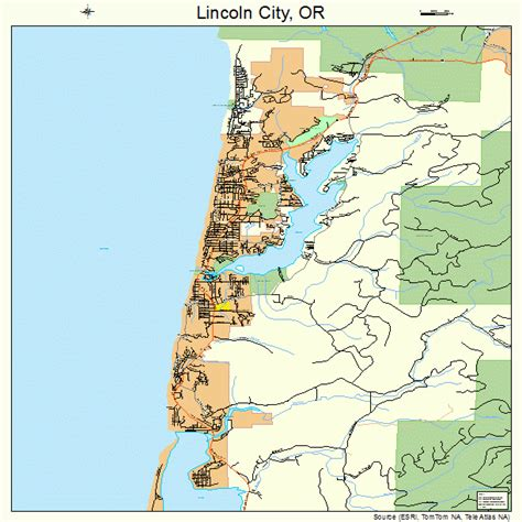 lincoln city or zip image gallery lincoln city map