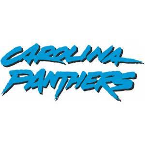 Wall Writing Stickers carolina panthers script logo decal sticker stk nfl cap