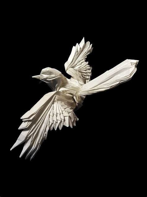 Origami Of Bird - 25 beautiful origami birds 21 is especially impressive