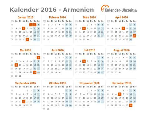 Ostern Kalender 2016 Feiertage 2016 Armenien Kalender 220 Bersicht