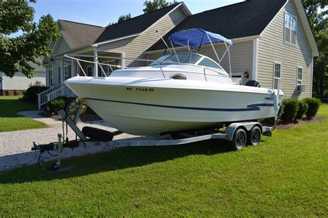 proline boat parts proline 22ft walkaround fishing boat in excellent cond
