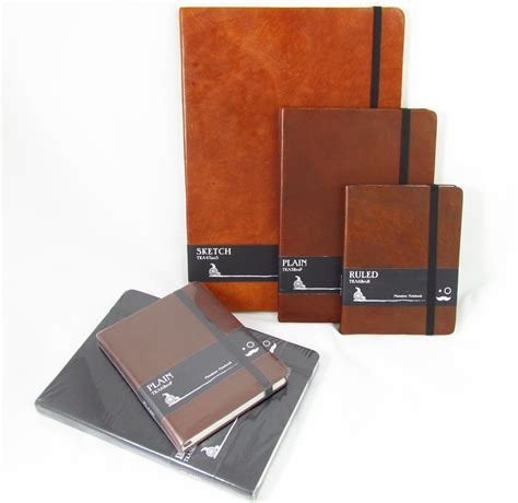 Notebook Giveaway - monsieur notebooks with vegetable tanned leather cover