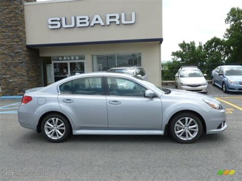 Ice Silver Metallic 2013 Subaru Legacy 3 6r Limited