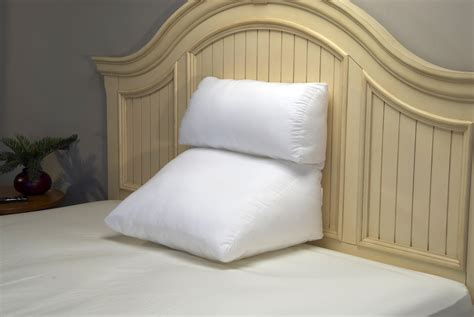 pillow in bed toronto canada on sale adjustable bed reading lumbar