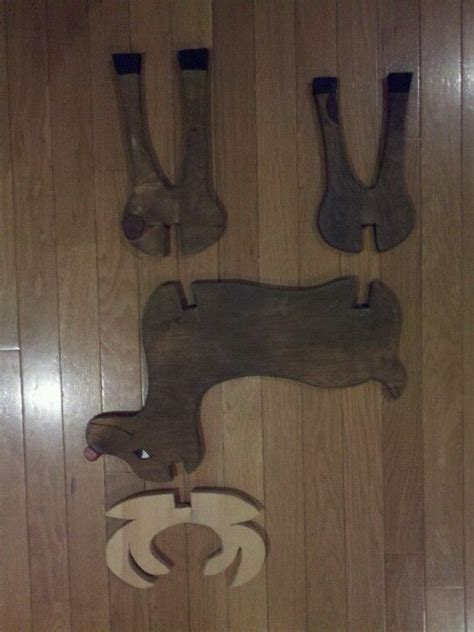 wooden reindeer plans woodworking projects plans