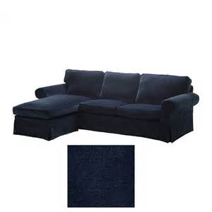 Slipcover Chaise Lounge Ikea Ektorp 2 Seat Loveseat Sofa With Chaise Cover