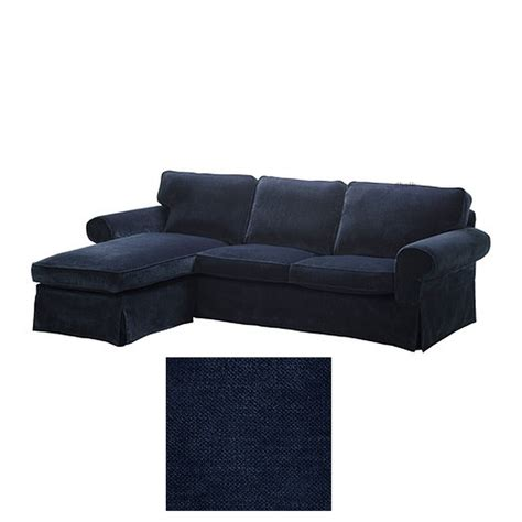 ikea ektorp 2 seat loveseat sofa with chaise cover