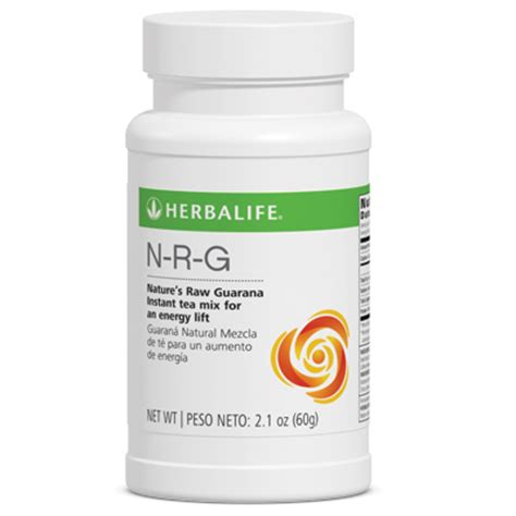 Herbalife N R G n r g nature s guarana tea
