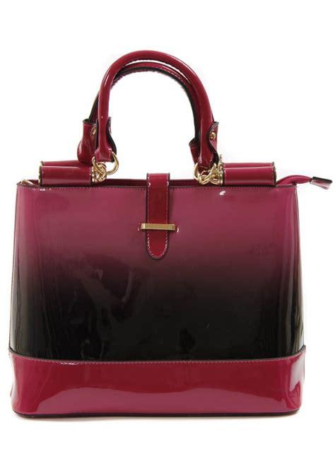 Designer Vs High Ombre Tote The Bag by Ombre Tote Bag Patent Handbag Pink Ombre Handbag