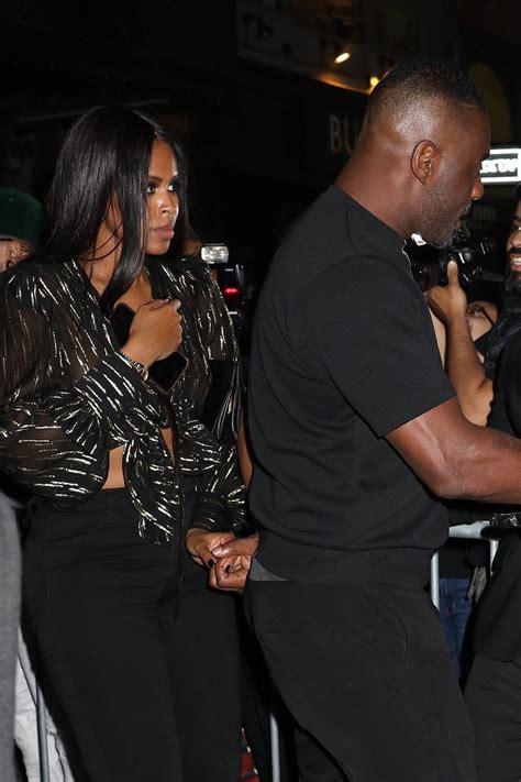 Idris Elba And Sabrina D Re Sandra Rose