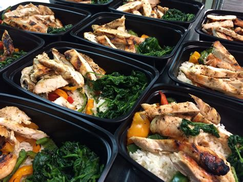 food prep meals making time for healthy eating