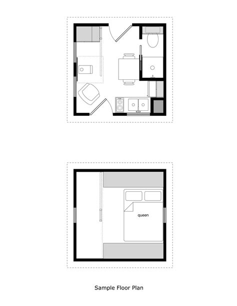 12x12 house plans prospector s cabin 12 x12 tiny house design