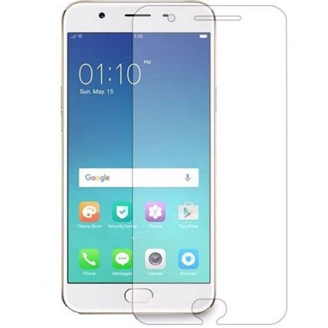 Tempered Glass Oppo A39 oppo f 1 screen protector glass pack of 2 rs 69