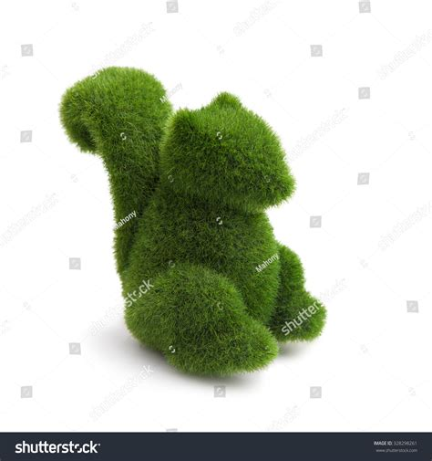 squirrel topiary topiary squirrel animal stock photo 328298261
