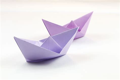 Origami Simple Boat - easy origami boat