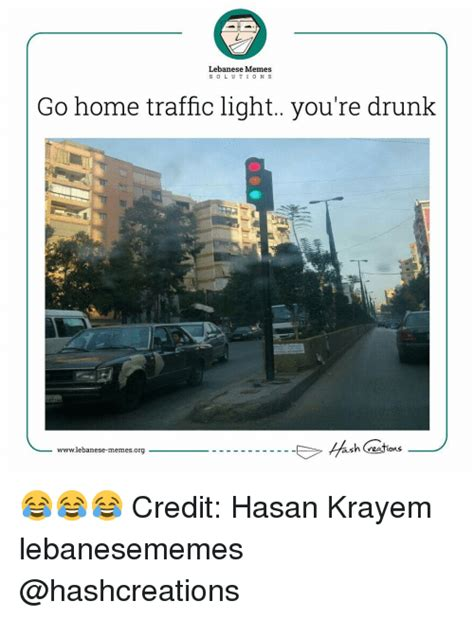 25 best memes about traffic lebanese and international