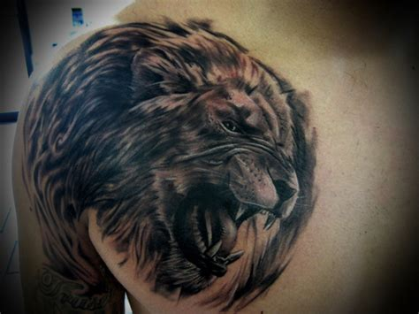 animal tattoo for strength animals that represent strength and courage