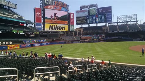 citi field section 125 citi field section 125 rateyourseats com
