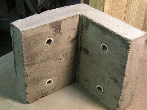 Bed Frame Brace Diy Concrete Garden Bed Brace Diy Projects For Everyone