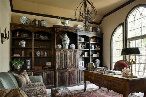 Traditional Small Home Office Ideas Surprising Distressed Black Bedroom Furniture Decorating