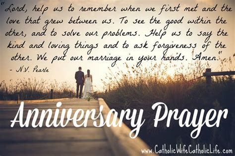 Wedding Anniversary Prayer Quote by Anniversary Up Part Iv Catholic Catholic