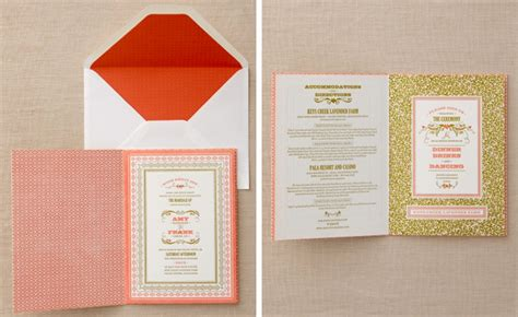 invitation design book elum real weddings amy and frank green elum designs