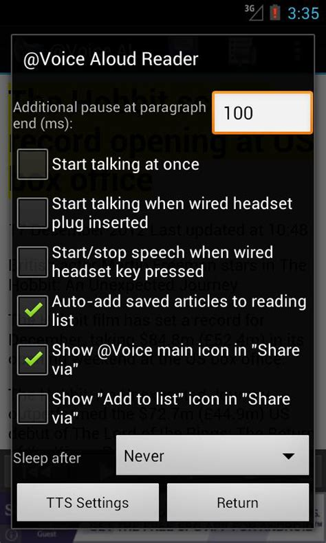 how to use voice on android voice read aloud android apps on play